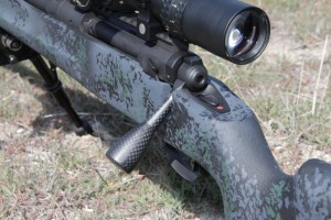 Savage - carbon fiber bolt handle (LH)