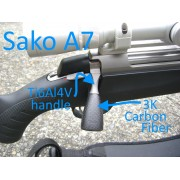 Sako A7 titanium bolt handle