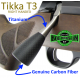 Tikka T3 / T3x titanium bolt handle, knob included (RIGHT HAND)
