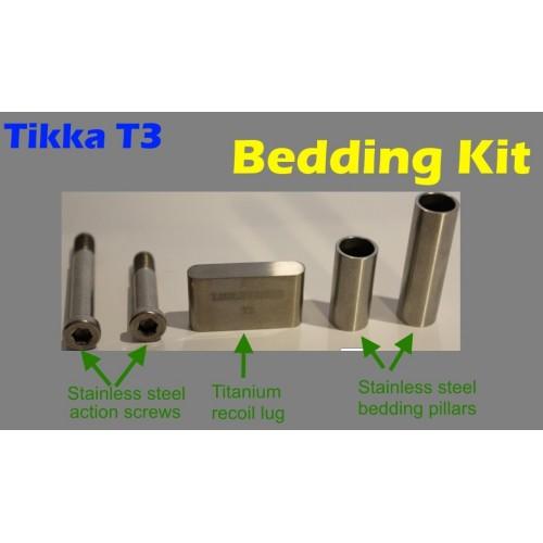 Tikka T3 / T3x Bedding Kit