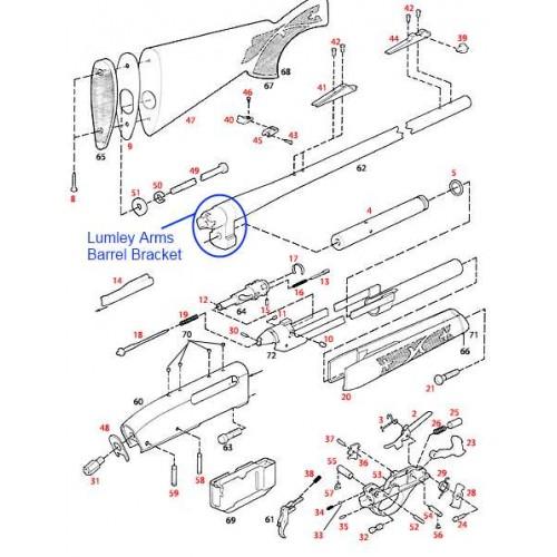 7600 and 7400 barrel bracket remington 7600 and 7400 barrel bracket sciox Gallery